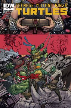 "A final battle looms as Karai decrees a ""Gauntlet"" battle between ancient foes Splinter and Shredderbut first the Turtles must defeat the Foot mutants- Koya, Bludgeon, Bebop & Rocksteady! With Leo mak"
