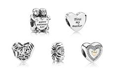 Cute new Mother's Day charms. Perfect tokens of affection. #PANDORA #Gift