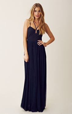 Keepsake Smoke And Mirrors Maxi with back cut-out