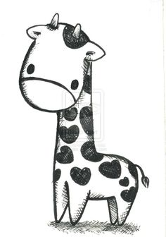 giraffe_by_amidot-d1ubuwb.jpg (749×1067)