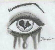 Ideas Drawing Sketches Pencil Broken Heart For 2019 Sad Drawings, Art Drawings Sketches Simple, Pencil Art Drawings, Drawing Ideas, Heartbroken Drawings, Broken Heart Drawings, Heart Broken, Drawings Of Hearts, Heart Break Drawings
