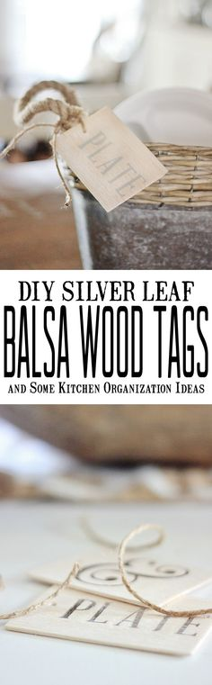 DIY Silver Leaf Bals