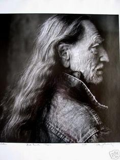 Willie Nelson portrait by Annie Leibovitz