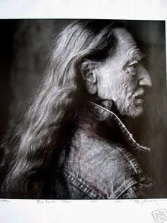Willie Nelson portrait by Annie Leibovitz