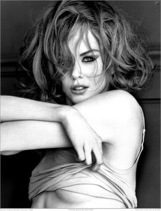 Nicole Kidman for GQ Calendar, 2006. Photographed by Herb Ritts.