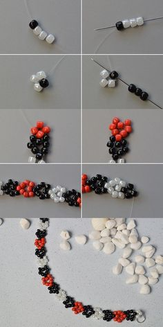 Like the seed beads beaded bracelet?The details will be published by LC.Seed bead jewelry flower chain ~ Seed Bead Tutorials Discovred by : Linda LinebaughHow to make handmade star seed beaded bracelet with glass beads from lc pandahall com – Beaded Bracelet Patterns, Beading Patterns, Beaded Bracelets, Beaded Necklace, Bead Earrings, Bracelet Designs, Stretch Bracelets, Embroidery Bracelets, Seed Bead Tutorials