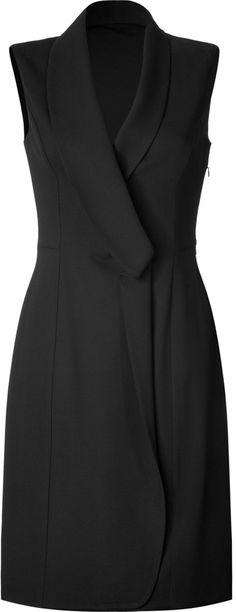Maison Martin Margiela Wool Blend Blazer-Style Dress on shopstyle.com
