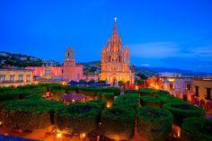 Parroquia cathedral San Miguel de Allende Mexico