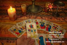 Tarot card reading can help reveal the inner most thoughts of a person www.aadishakti.co