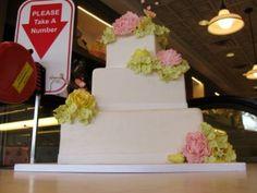 A Wedding Cake that great you at the door - Carlo's Bake Shop - Cake Boss - Ridgewood - New Jersey - Tony Mangia - Devil Gourmet - www.DevilGourmet.com