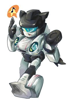 (This is going to be gender neutral. That saying if you are a male in… Transformers Jazz, Original Transformers, Transformers Decepticons, Transformers Characters, Popular Cartoons, Super Robot, Digimon, Comic Art, Comic Book