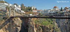 la pont de costantine   Le Pont Suspendu Sidi M'Cid de Constantine