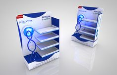 Point of Sale | Health  Beauty Point of Purchase Design | POP | POSM | POS | POP |Sensodyne. Display