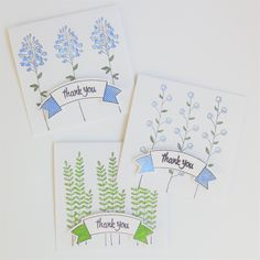Thank you notes for ByDeeZyne.etsy.com