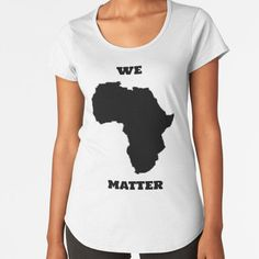 """""""We Matter"""" by Qsoul   Redbubble  This work depicts the plight of black people all over the world, that the Lives of black people matter, all of them. Black Lives Matter. Black People, Cotton Tote Bags, T Shirt, Tops, Women, Fashion, Black, Tee, Moda"""