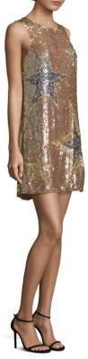 Parker Allegra Sequin Star Shift Dress