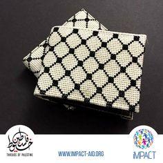 Threads of Palestine Cross Stitch Designs, Stitch Patterns, Geometric Graphic Design, Palestine Art, Palestinian Embroidery, Cross Stitch Letters, Syria, Perler Beads, Beading Patterns