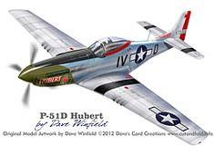 P51D Hubert Model Artwork