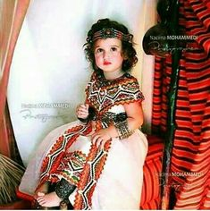 Petite fille kabile ALGERIA en 2019 Robe kabyle