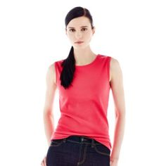 Joe Fresh™ Ribbed Sleeveless Top $8 original $5.99 sale