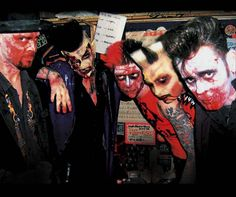 Demented Are Go is another great psychobilly band hailing from England.  They've been around since the 80's, but have a new album out in 2012.