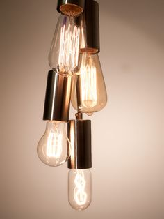 These are really pretty when lit up ..E27 Vintage Styles Bulbs