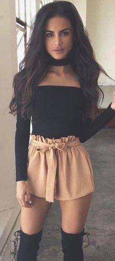 Dress sexy black velvet