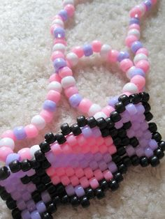 Only with Perler bead bow instead