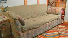 Comprano un divano e trovano 40mila dollari nel cuscino......Comprano un divano e trovano 40mila dollari nel cuscino (Video)  Dopo aver acquistato un sofà dall'Esercito della Salvezza, tre giovani americani hanno scoperto che nel rivestimento del bracciolo era nascosto un tesoro in contanti. La vicenda è accaduta a 75 chilometri da New York. I ragazzi hanno pagato il divano 55 dollari e hanno scoperto il tesoro contenuto all'interno dell'imbottitura solo dopo averlo portato a casa.
