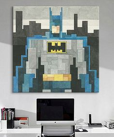 Look what I found on #zulily! Batman Gallery-Wrapped Canvas #zulilyfinds
