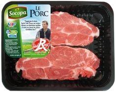 Côtes de #porc échine X2  #pork.