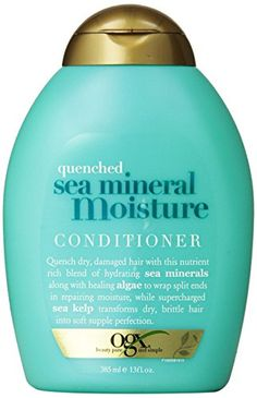 OGX Conditioner, Quenched Sea Mineral Moisture, 13 Ounce