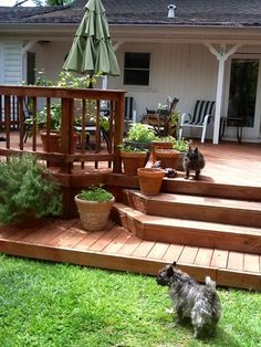 Our Backyard Deck