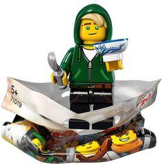 Ninjago Movie Collectable minifigures revealed | Brickset: LEGO set guide and database