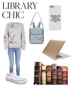 """Untitled #17"" by natalierhalder-1 on Polyvore featuring Converse, Chloé and Tucano"