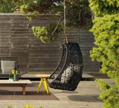 fauteuil de jardin suspendu haut de gamme par Kettal