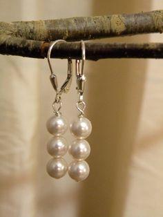 Bea         Swarovski Crystal Pearls On by ScorpionMoonDesigns, $27.00