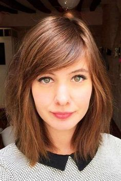 Top Picks Of Shoulder Length Haircuts You'll Love ★ See more: http://lovehairstyles.com/shoulder-length-haircuts/