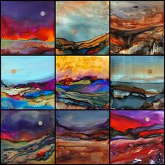 ALCOHOL INKS | June Rollins ART
