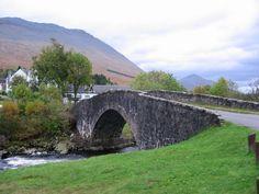Bridge of Orchy by Richard Webb, via Geograph