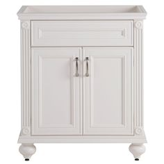 Home Decorators Collection Annakin 30 in. W Vanity Cabinet Only in Cream-AK30-CR - The Home Depot