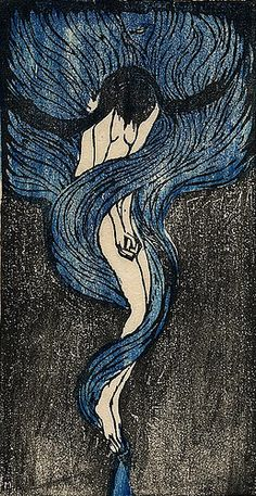 Kiyokichi Tanaka, Melancholy, 1915, pretty much paints a picture of how I feel
