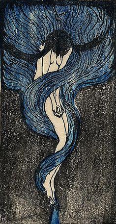 Le llaman melancolía, yo le llamo convertirse en sirena.