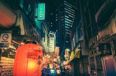 Tokyo by Night Tokio bei Nacht Photo taken by Masashi Wakui Night Photography, Street Photography, Landscape Photography, Tokyo Streets, City Streets, Bg Design, Voyager Loin, Tokyo Night, William Eggleston