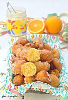 Fritole con yogurt di carnevale Beignets, Yogurt, Italian Cake, Strudel, Mediterranean Recipes, Pretzel Bites, Italian Recipes, Buffet, Bread