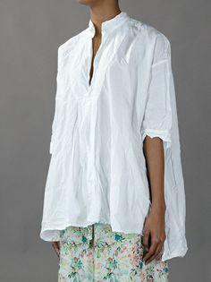DANIELA GREGIS - slit oversized shirt 3