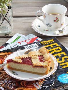 Live to Bake: Tvarohový mriežkový koláč No Bake Cheesecake, Dessert Recipes, Desserts, Tiramisu, French Toast, Food And Drink, Pie, Baking, Breakfast