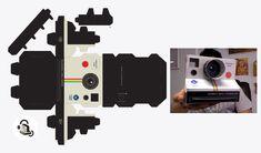 Polaroid - paper toys