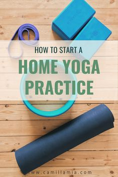 Are you a beginner yogi looking to start a home yoga practice? This guide explains everything you need to start, how to start, and tips for beginners starting their home practice. It also covers how to fit yoga into a busy schedule, staying motivated, as well as a bunch of other great tips for beginners! #yogaforbeginners #yogaathome #homeyogapractice #yoga #yogaposes #yogainspiration