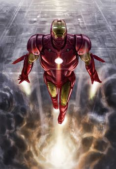 Check out Iron Man concept art by Phil Saunders ! Once upon a time there was a little movie called Iron Man . Marvel Comics, Marvel Dc, Marvel Heroes, Iron Man Wallpaper, Spiderman, Iron Man 3 Poster, Iron Man Armor, Thor, Ironman